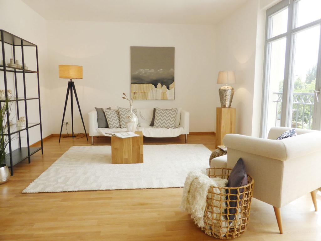 Wohnzimmer Home Staging