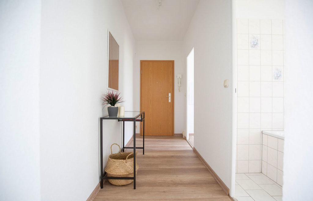 Flur nach Home Staging in Dresden
