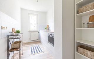 Home Staging Referenz Zweiraumwohnung Dresden