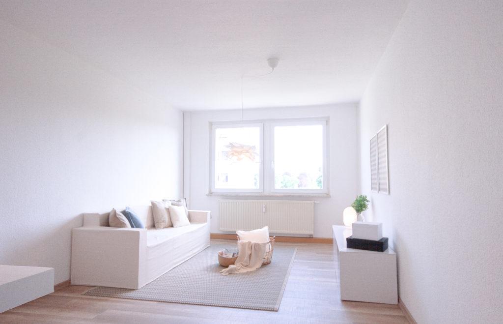 Home Staging Zweiraumwohnung Dresden