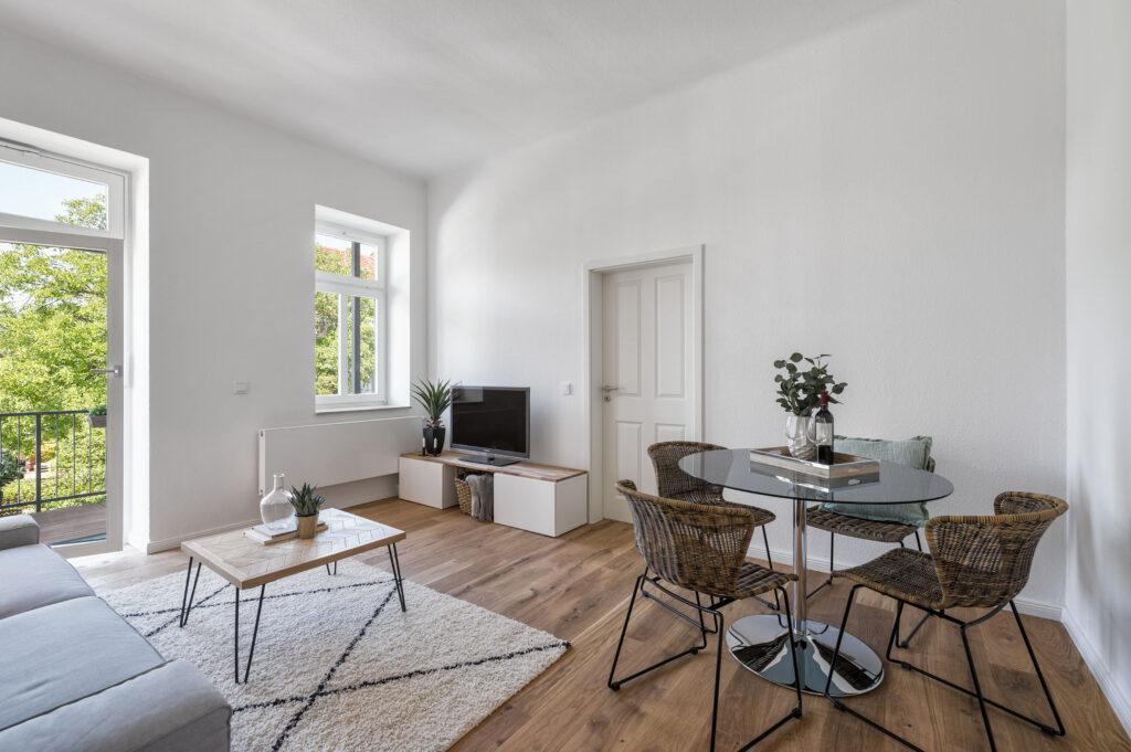 NACHHER: Investorenwohnung Dresden